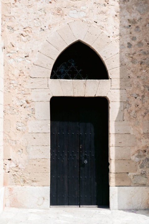 Old Door Black - XL - 70x100cm