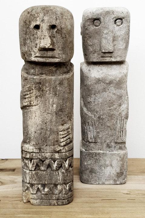 Ancienne Statue Pierre Bali - NII