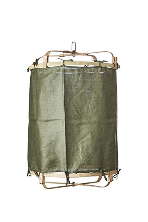 Lanterne Bambou - Kaki - M