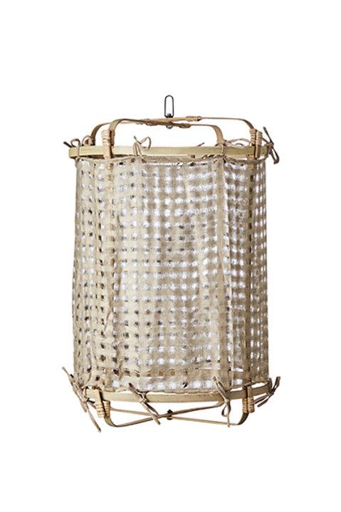 Lanterne Bambou - Ivoire - M