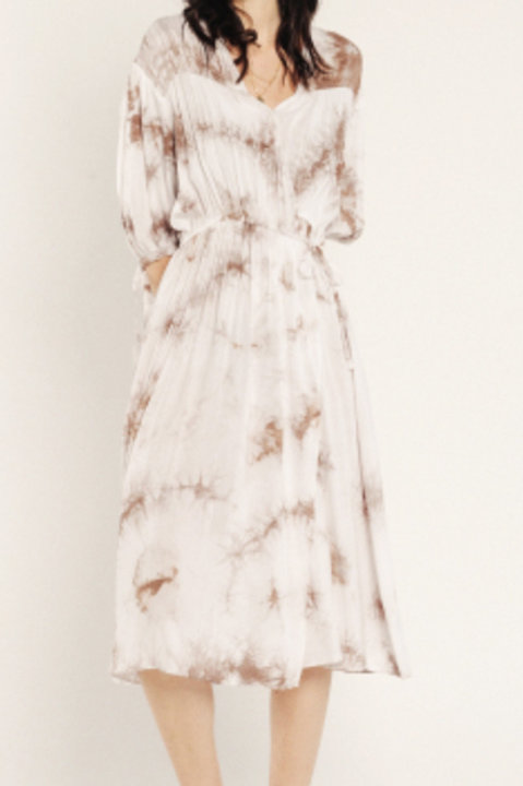 Robe Porte Feuille Tie and Dye