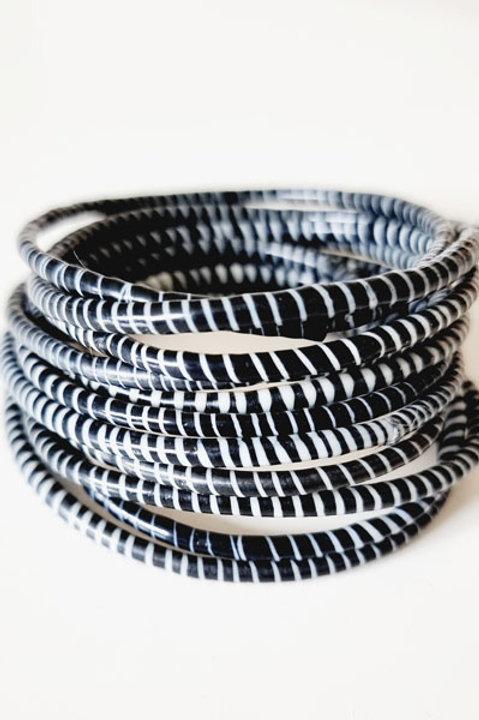 Bracelets Mopti - Dark Black
