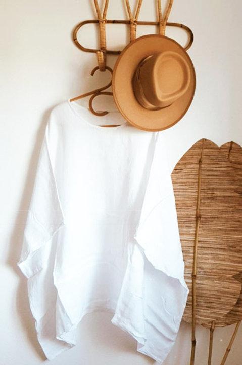 Poncho Blanc Blanc