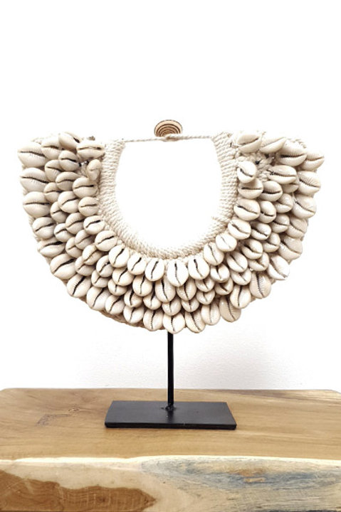 Collier Papou - Coquillage