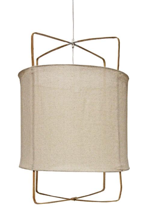 Lanterne Bambou - Ivoire