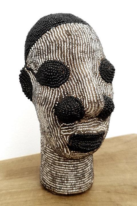 Tête Perlée - Petit Modèle - Silver