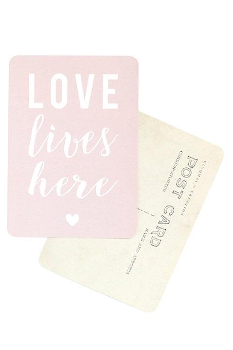 Carte Postale - LOVE