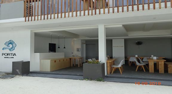 Portia Hotel & Spa, Dhiffushi, Maldives