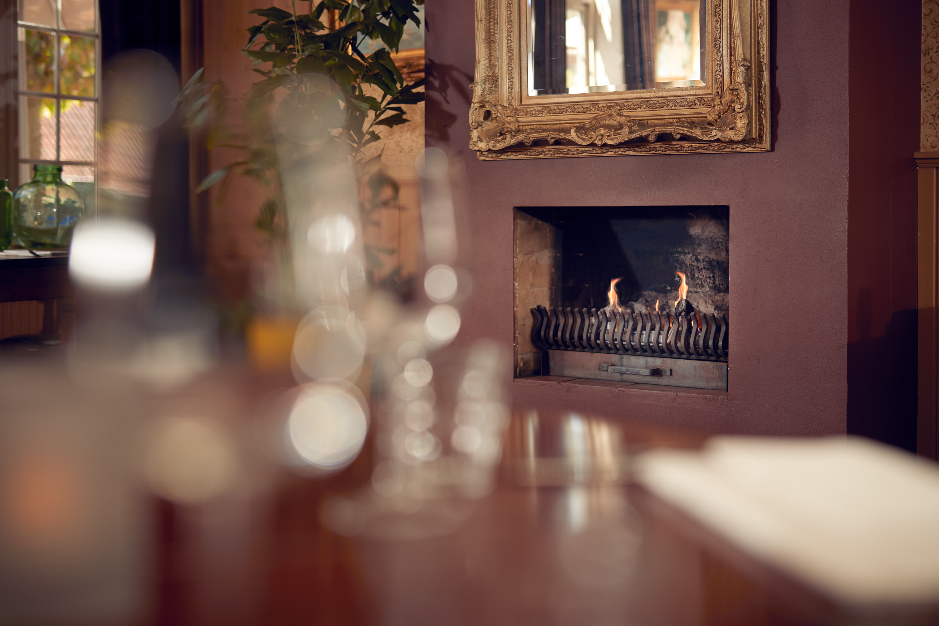 Restaurant - Fireplace
