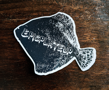 The Turbot Sticker