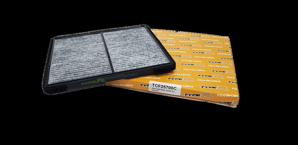 Filtro De Cabina Con Carbono Activado TCF25700CTYPER Para Chevrolet Spark