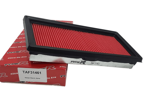 Filtro De Aire TAF31461TYPER Para Nissan March, Versa