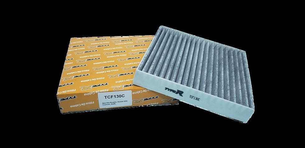 Filtro De Cabina Con Carbono Activado TCF130CTYPER Para New Kia Picanto