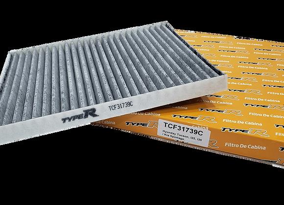 Filtro De Cabina Con Carbono Activado TCF31739CTYPER Para Hyundai Tucson