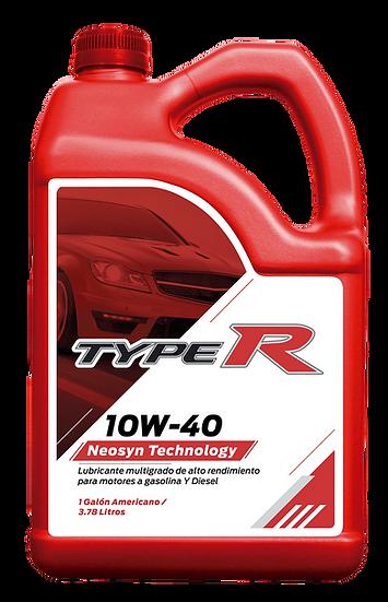 Lubricantes Motor Gasolina Typer 10W40 API CI-4 / SN En Galon Caja 6/Gal