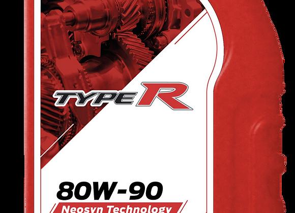 Lubricantes Para Transmisiones Typer 80w90 API GL-5 En Cuarto Caja 24/4