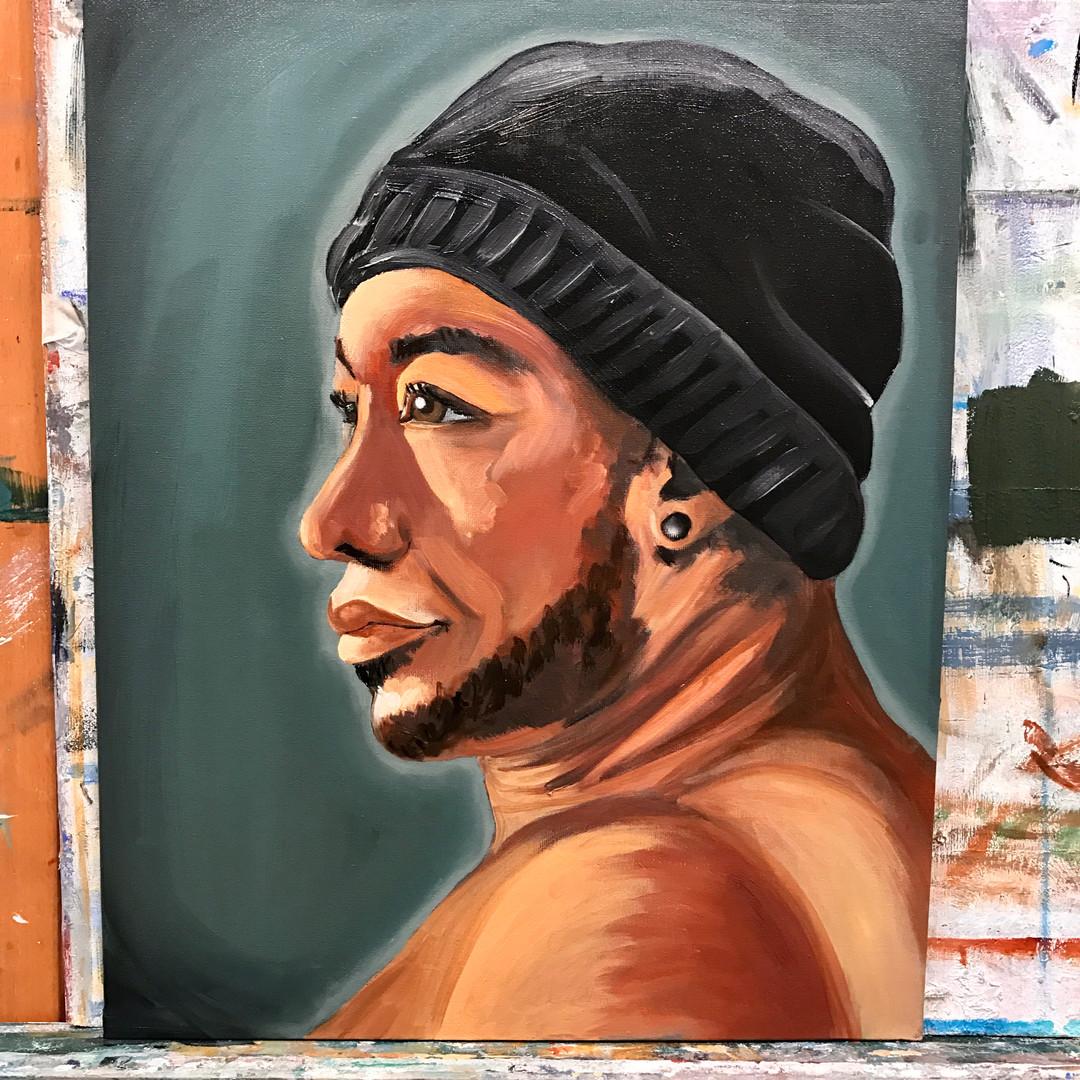 Portret male Model