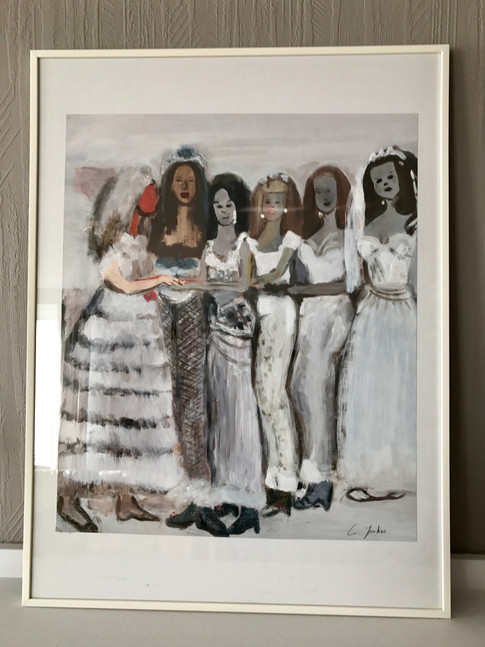 Copy of 'Ryman's Brides' (1997) - by Marlene Dumas