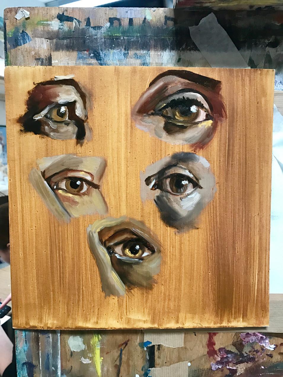 Study of Eyes