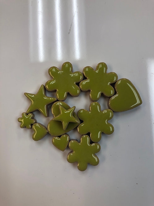 Large Charms 20mm - Lime Green