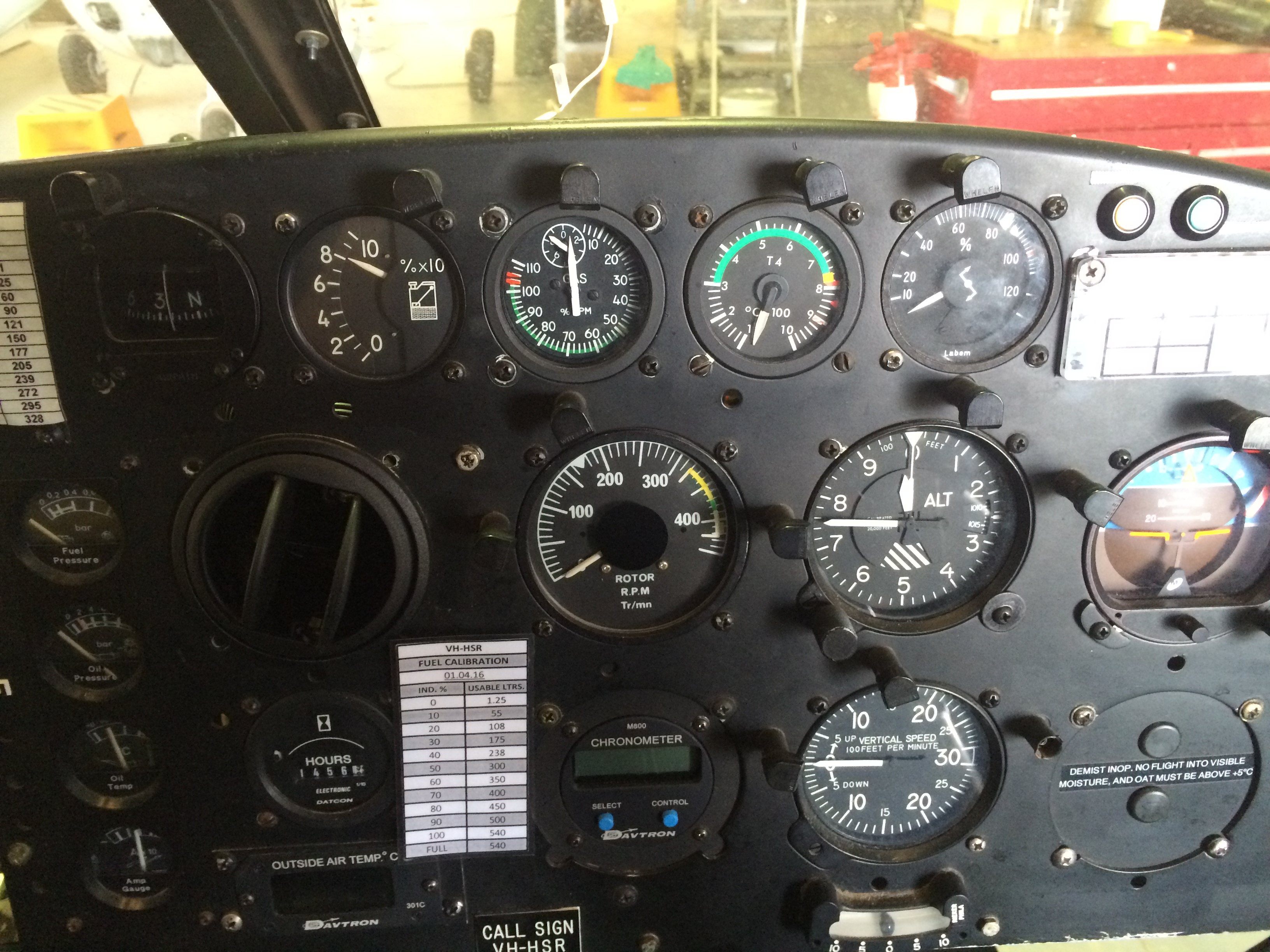 Featured Project: AS350D Instrument Panel Upgrade