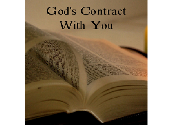 God's Contract with You