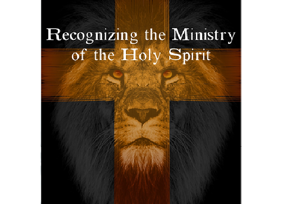 Recognizing the Ministry of the Holy Spirit