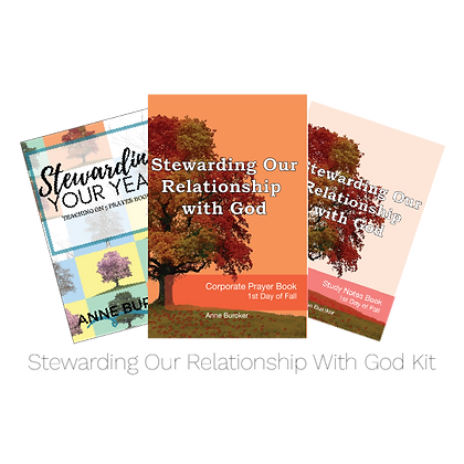 Stewarding Our Relationship With God Kit
