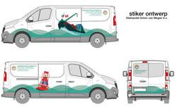 Bus stiker ontwerp