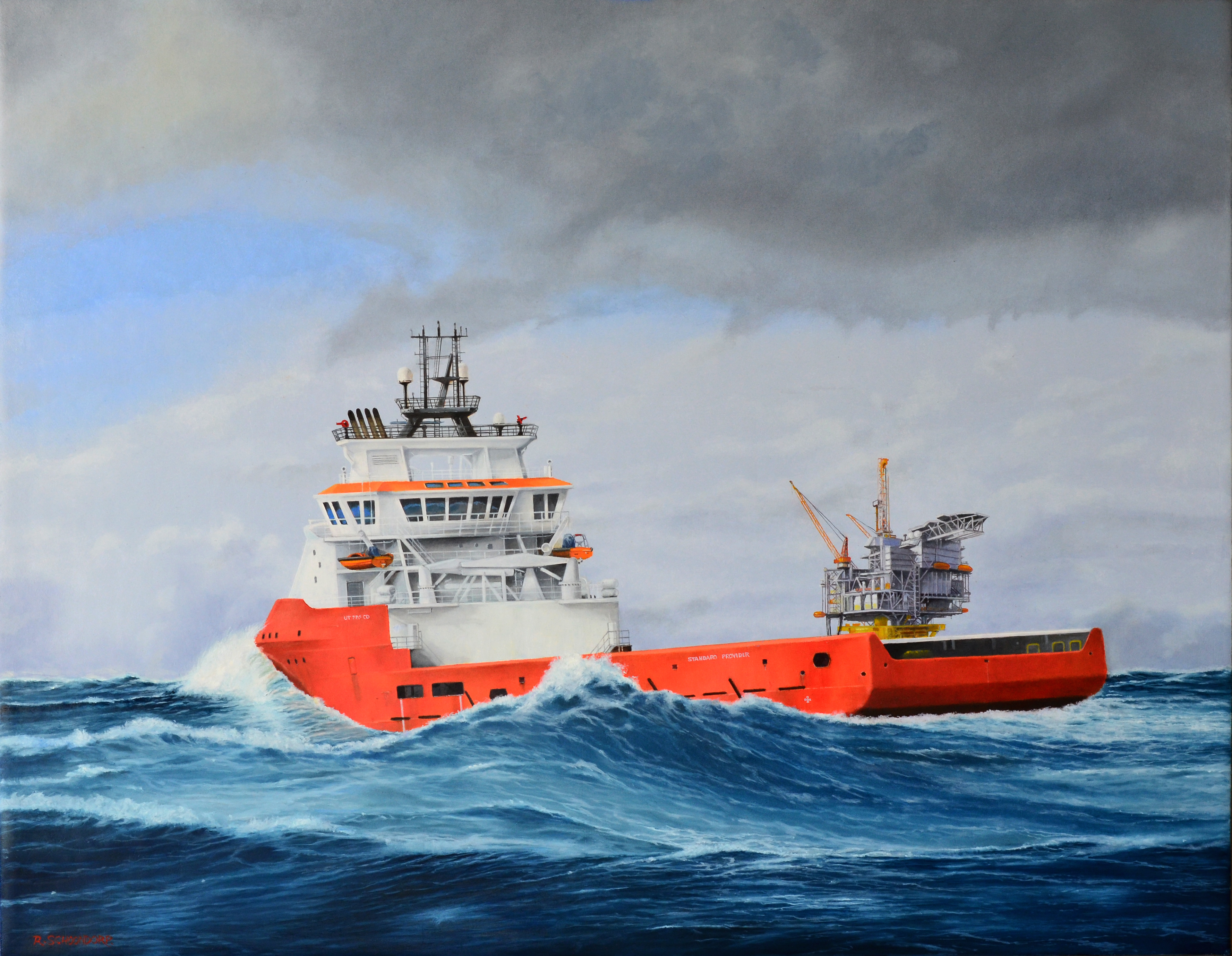 Supply vessel  Standard Provider