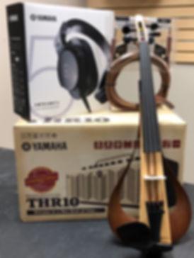 Yamaha YEV104 Electric Violin Performance Package