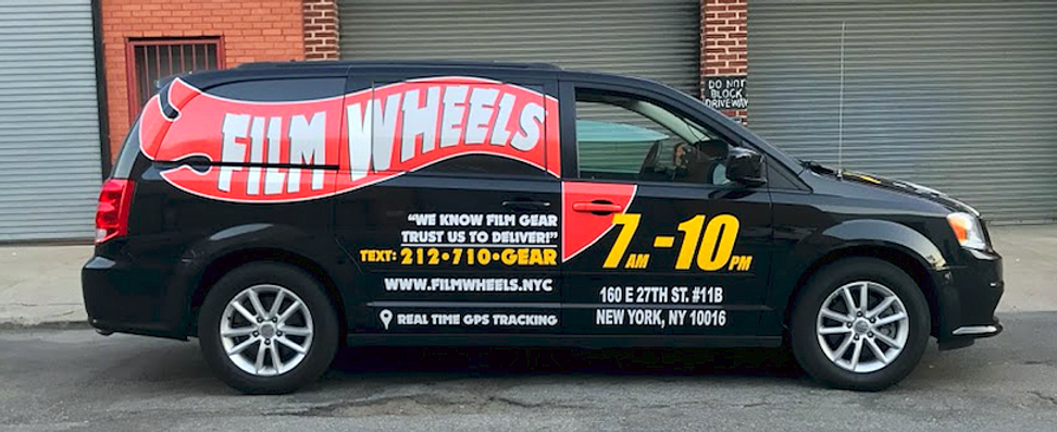 The Film Wheels Van