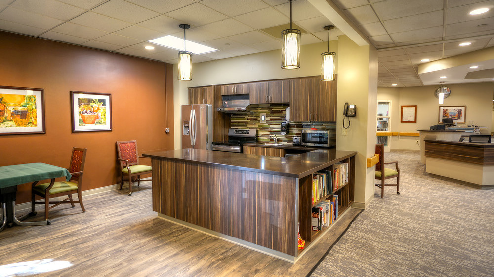 Occupational Therapy Kitchen at Christopher House of Worcester