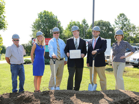 Green Leaf Construction Breaks Ground for FW Webb Addition