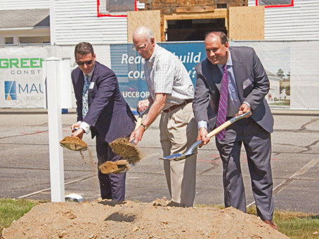 Green Leaf Construction Breaks Ground on Historic Renovation for the United Church of Christ, Boxbor
