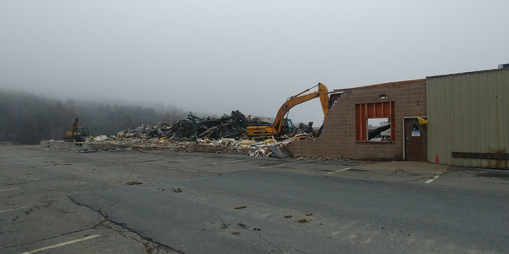 FW Webb Lebanon Demolition