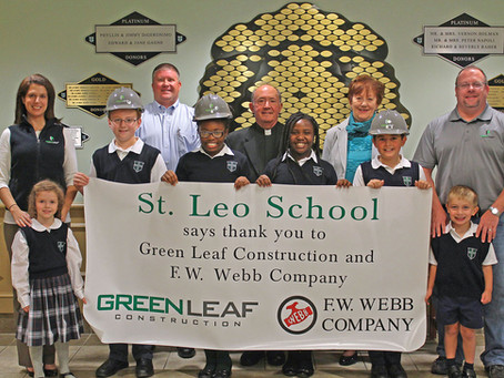 Green Leaf Construction Completes Renovations for St. Leo School