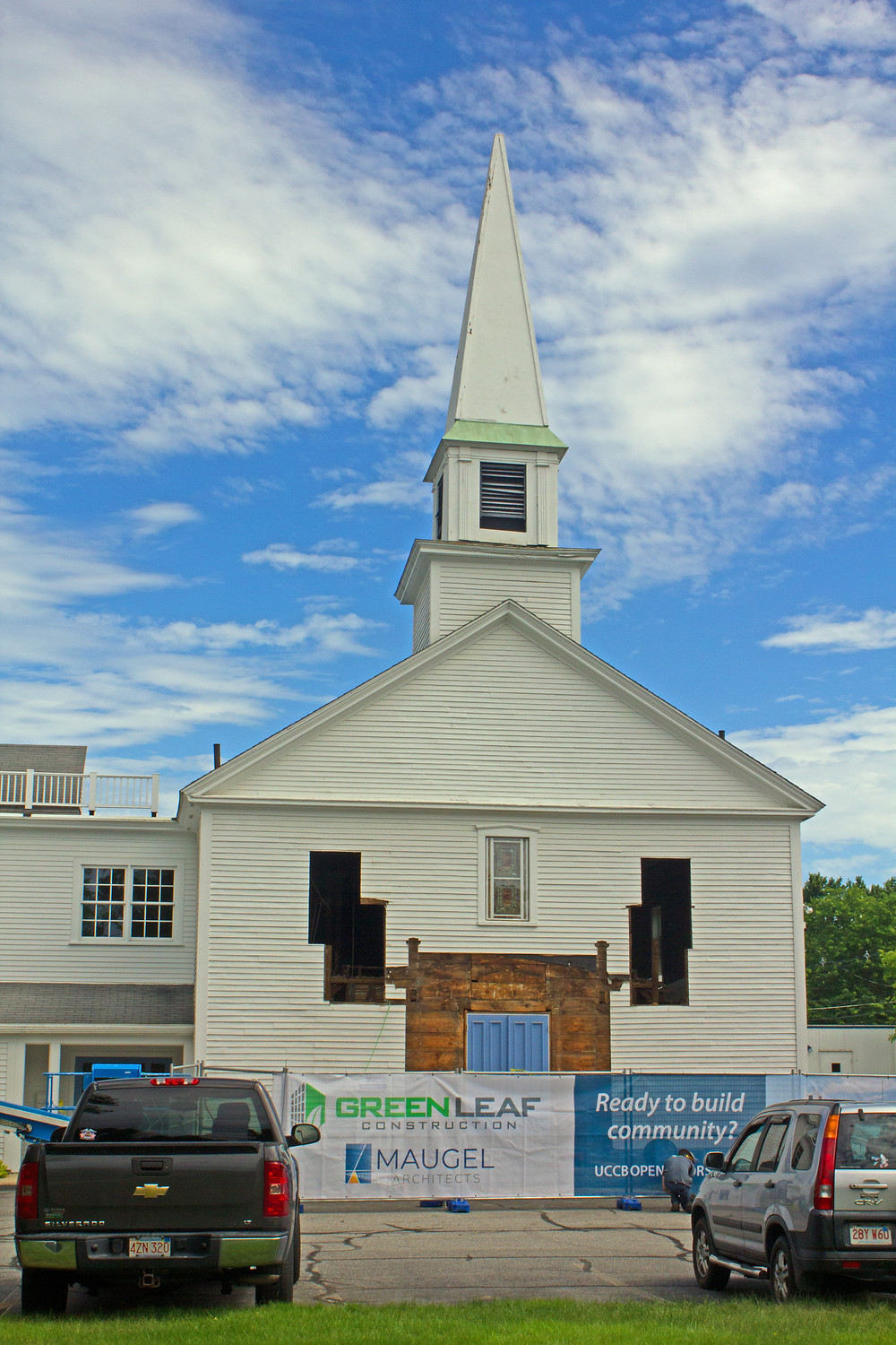 The Meeting House portion of the Church's facility was built in 1833