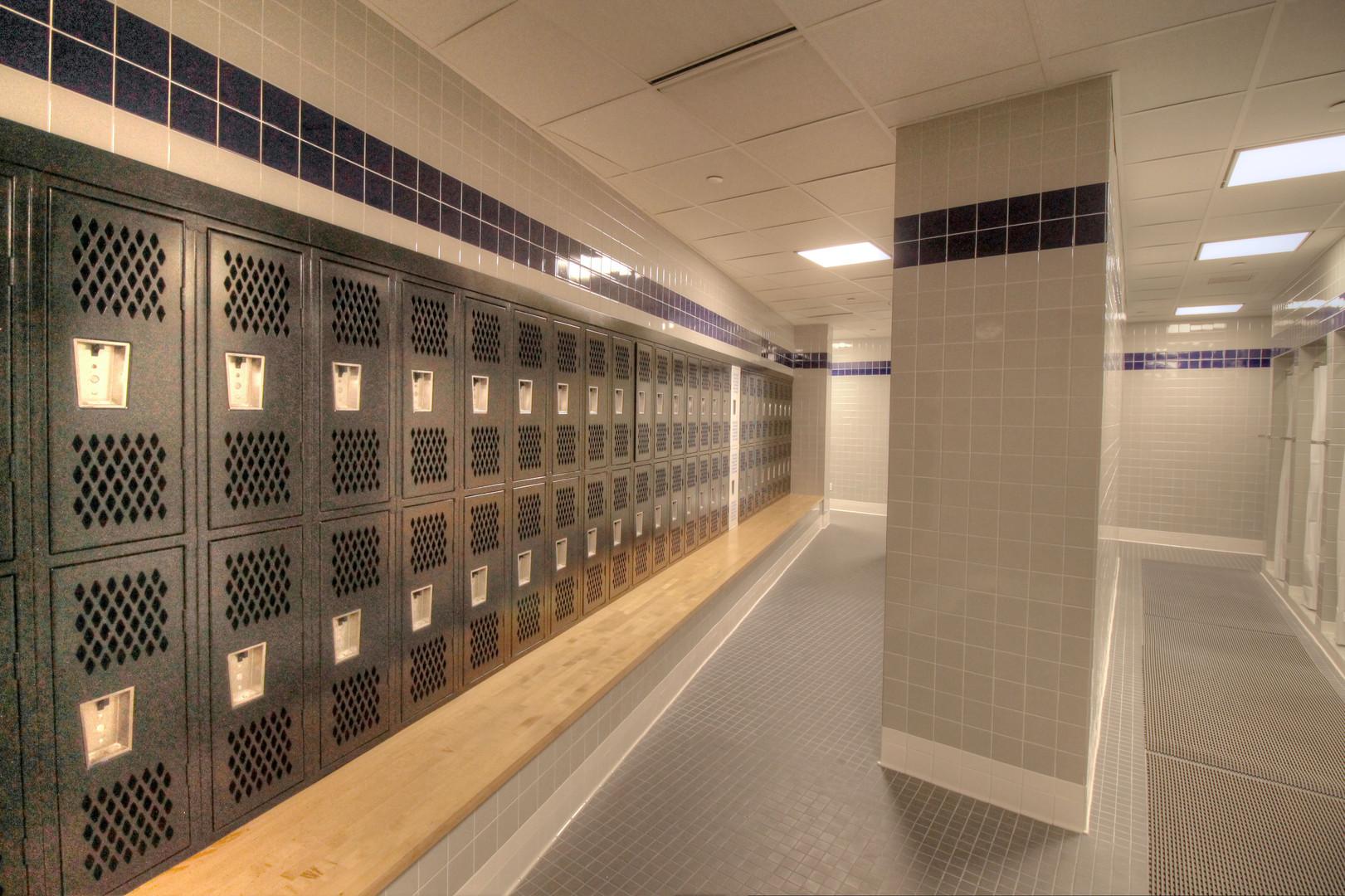 Fitness Center Locker Room Upgrades