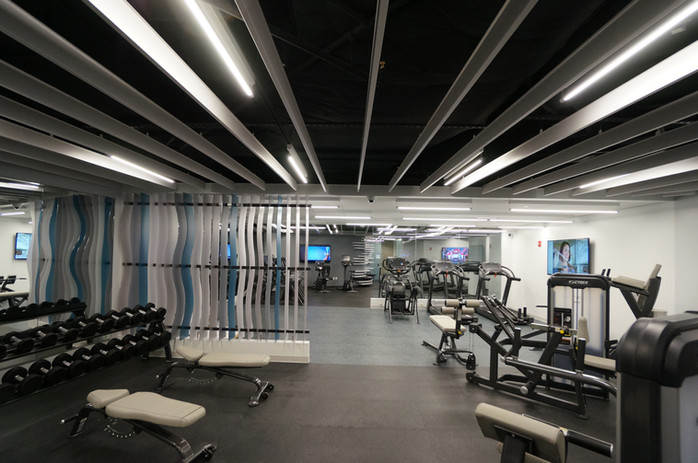 Fitness Center Free Weight Area