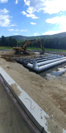 FW Webb Lebanon Stormwater Infiltration System