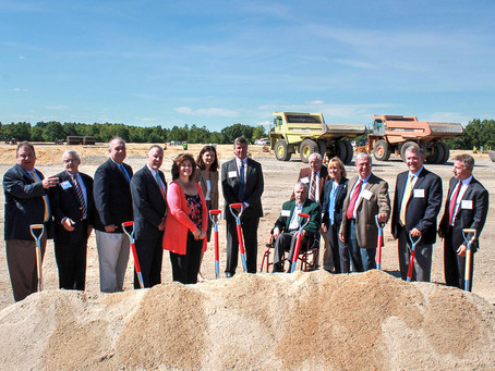 Green Leaf Breaks Ground on Nearly 1Million Sq. Ft.