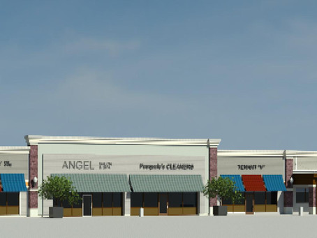 Green Leaf Begins Shopping Center Renovations