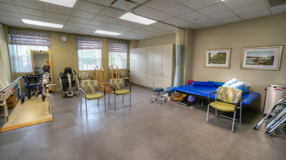 Physical Therapy Area at Christopher House of Worcester