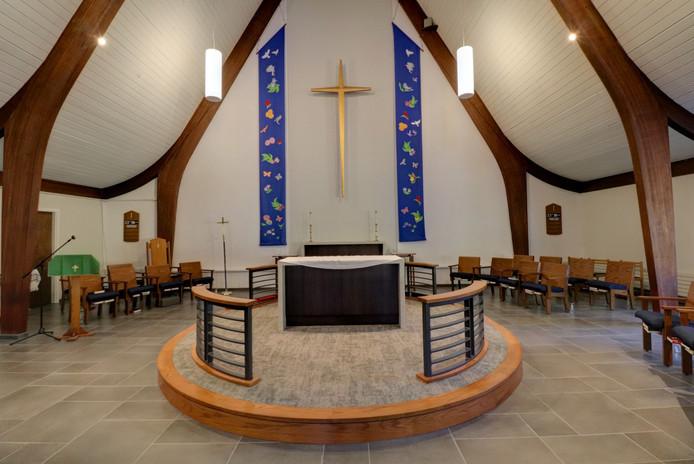 St. Elizabeth's Sanctuary Platform Detai