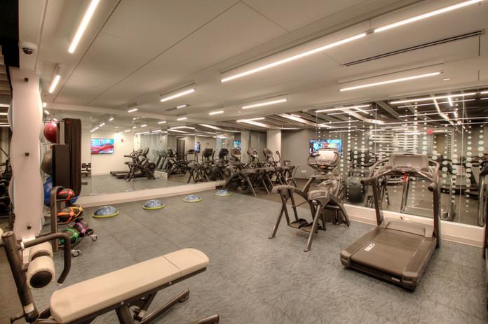 Fitness Center Pilates Area