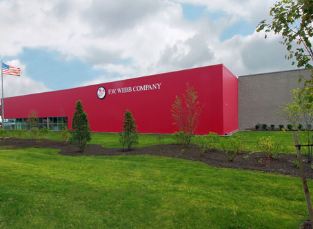 Green Leaf Cuts Ribbon for New F.W. Webb Facility