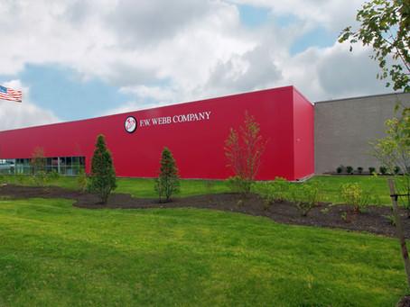 Green Leaf Cuts Ribbon for New F.W. Webb Facility
