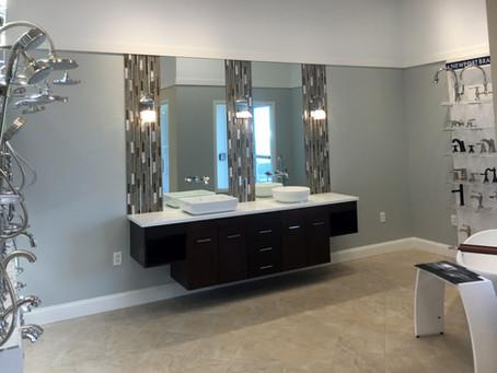 Frank Webb's Bath Center Showroom Complete