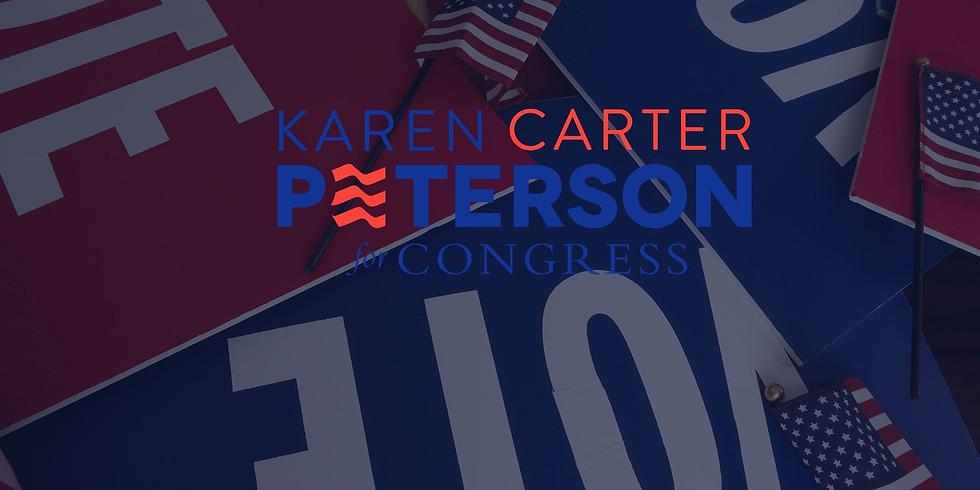 Karen Carter Peterson for Congress Virtual Fundraiser